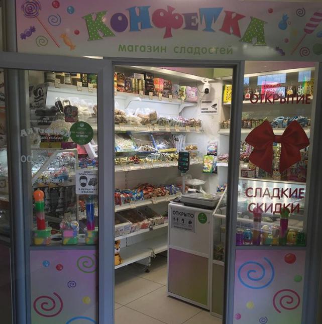 Магазин сладостей «Конфетка»